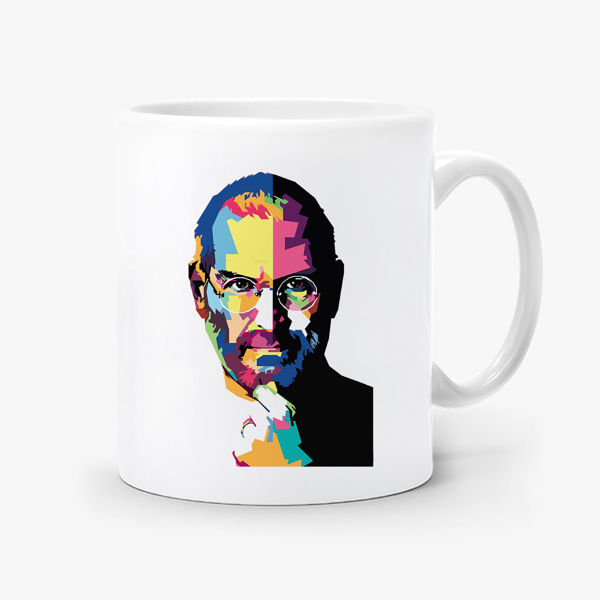 Picture of Steve Jobs Mug