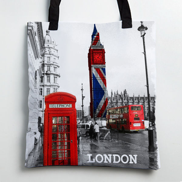 Picture of london Tote bag