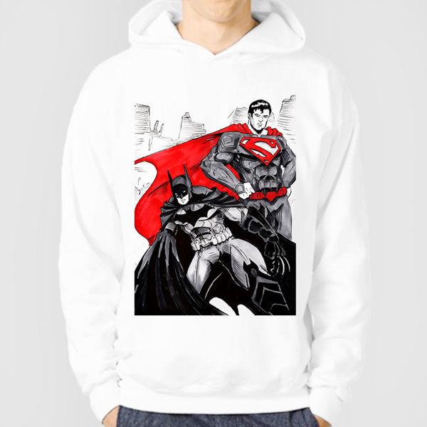 Picture of Superman & Batman Hoodie