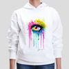 Picture of Rainbow Eye art Female Hoodie