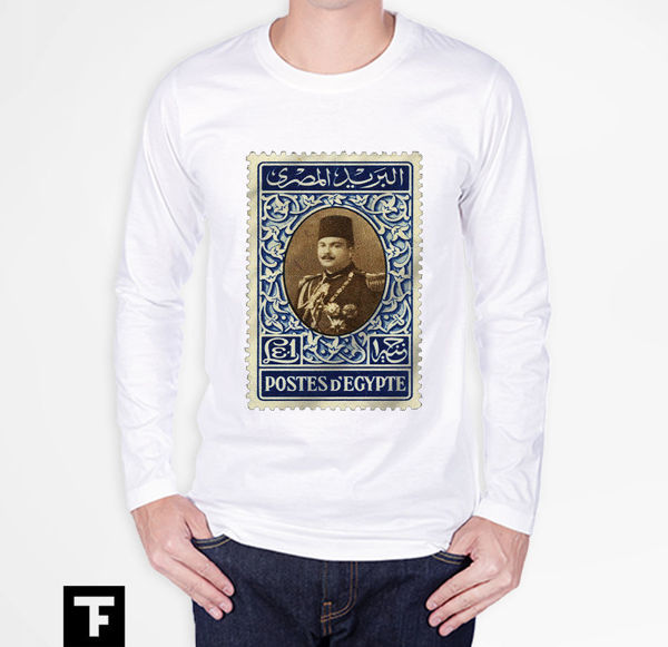 Picture of King Farouk postage stamp T-Shirt