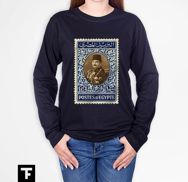 Picture of King Farouk postage stamp Female T-Shirt