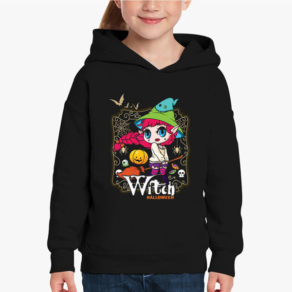 Picture of Witch halloween Girl Hoodie