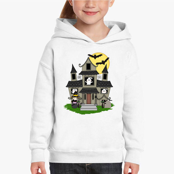 Picture of Haunted House Girl Hoodie