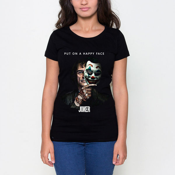 Picture of The Joker Mask Female T-Shirt