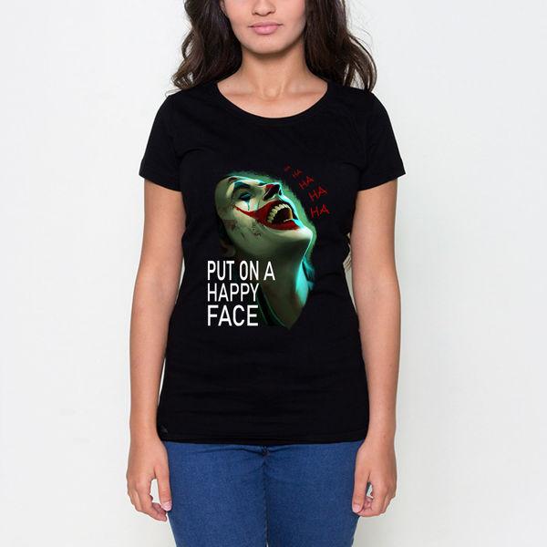 Picture of ha ha ha Joker Female T-Shirt