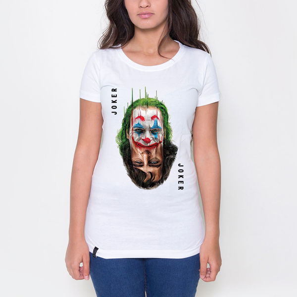 Picture of Joker 2 Faces Female T-Shirt