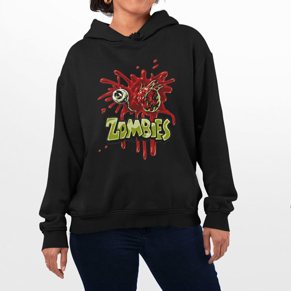 Picture of Zombies Female hoodie