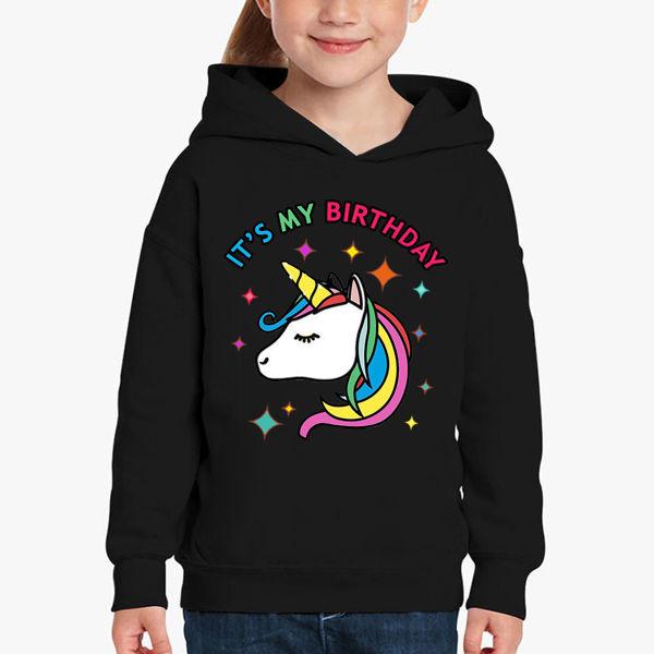 Picture of Unicorn birthday girl Hoodie
