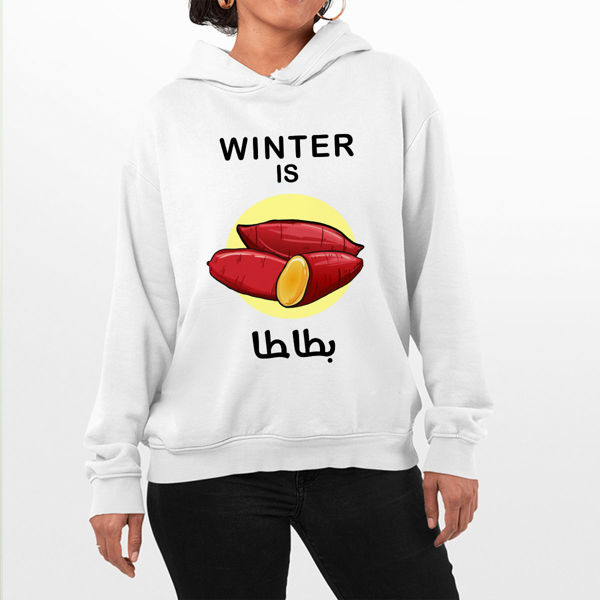 Picture of Winter is بطاطا Female Hoodie