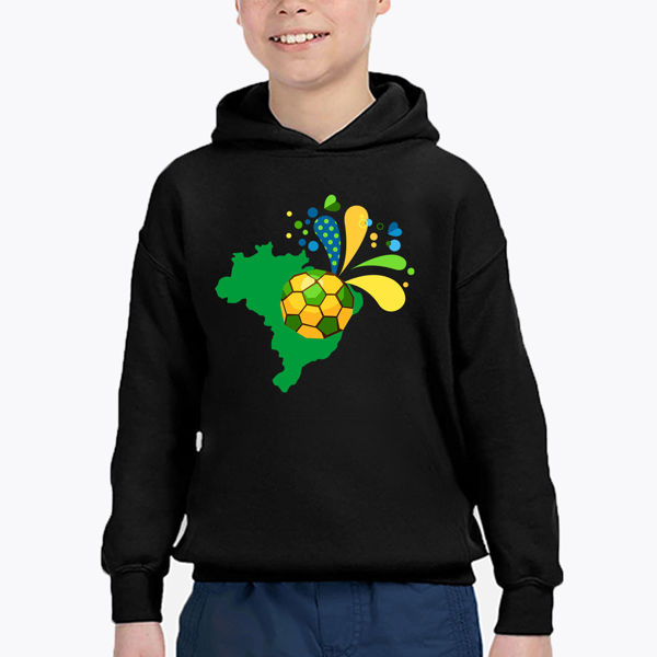 Picture of BRAZIL Boy Hoodie