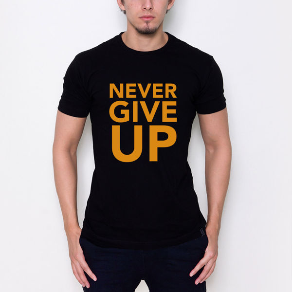 Picture of Never give up T-shirt