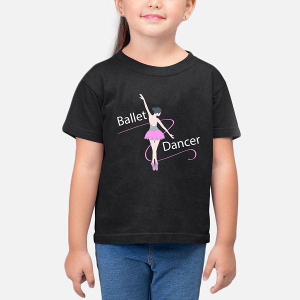 Picture of Ballet Dancer Girl T-Shirt