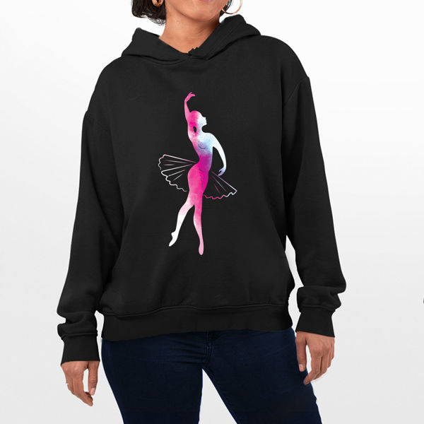 Picture of Pink Ballerina Female Hoodie