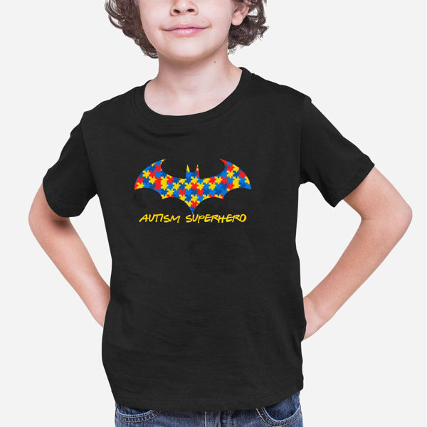 Picture of Autism Superhero Boy T-Shirt