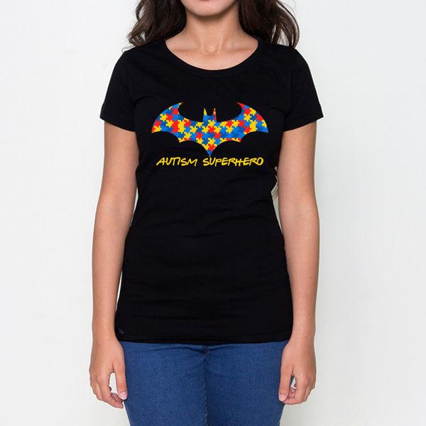 Picture of Autism Superhero Female T-Shirt