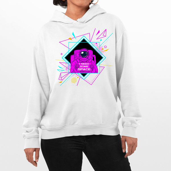 Picture of I need some space Female Hoodie