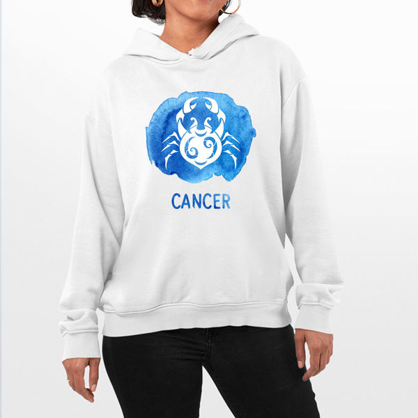 Picture of Colorful Cancer Female Hoodie