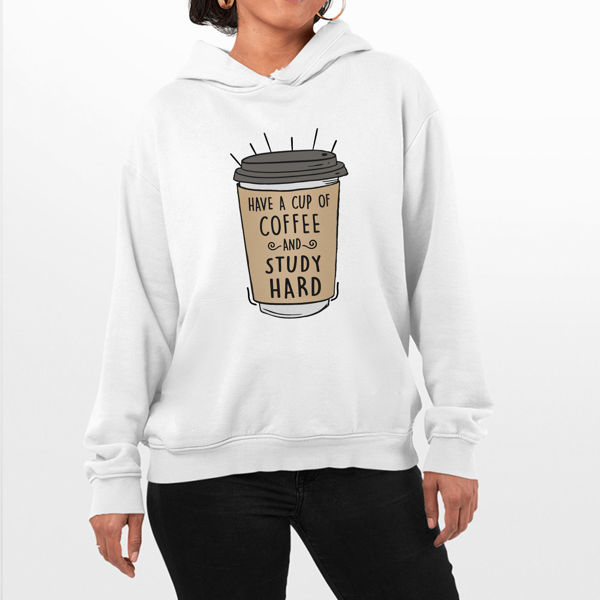 Picture of Study hard Female Hoodie