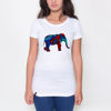 Picture of Colorful Elephant Female T-shirt