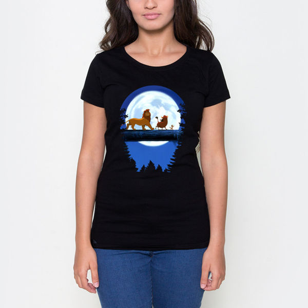 Picture of Sima, Timon and Pumbaa female T-Shirt