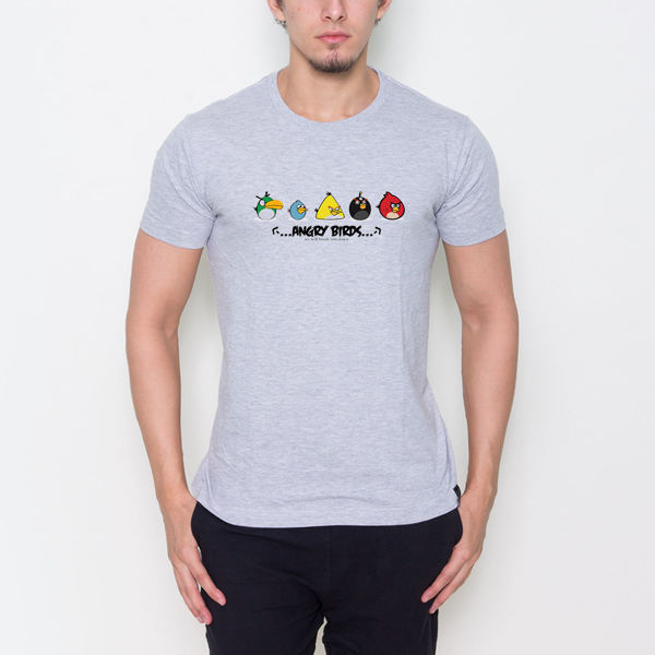 Picture of Angery Birds Cartoon T-Shirt