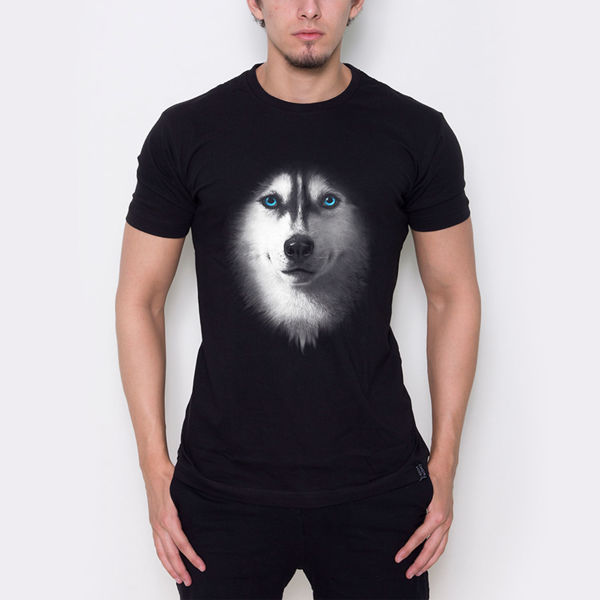 Picture of Wolf with colored eyes T-Shirt