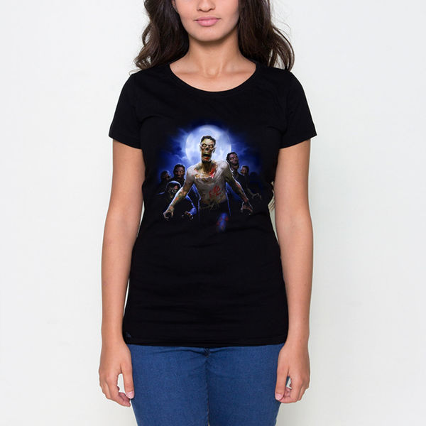 Picture of Zombie female T-shirt