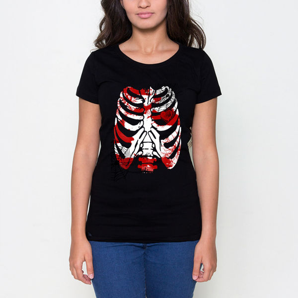 Picture of Skeleton female T-shirt