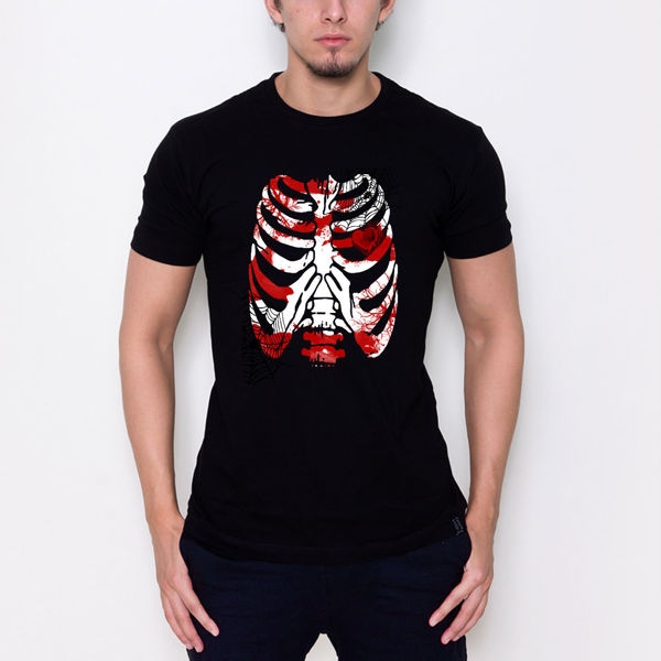 Picture of skeleton T-shirt