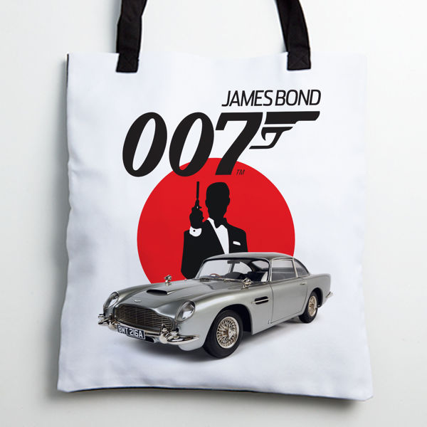 Picture of James Bond 007 Tote bag