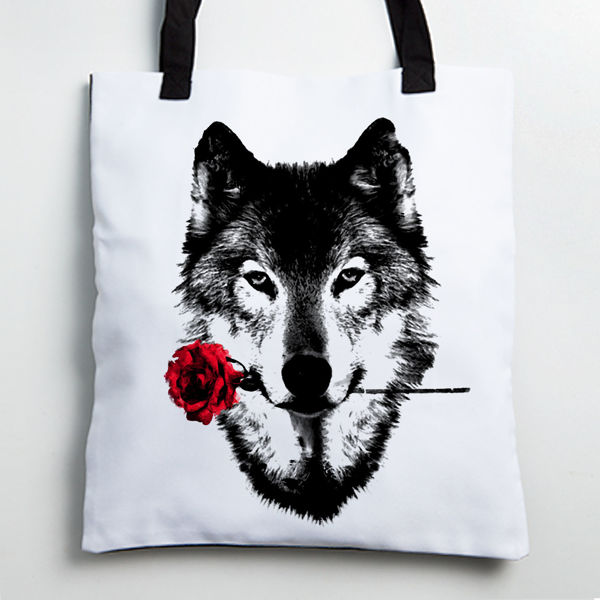 Picture of Wolf Tote bag