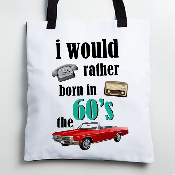 Picture of The 60's Tote bag