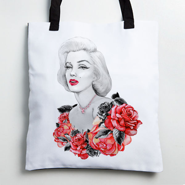 Picture of Marilyn Monroe Tote bag