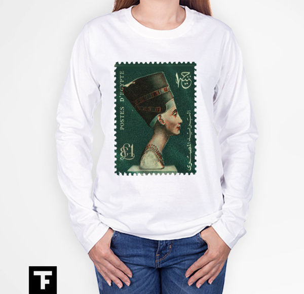 Picture of Cleopatra postage stamp Female T-Shirt