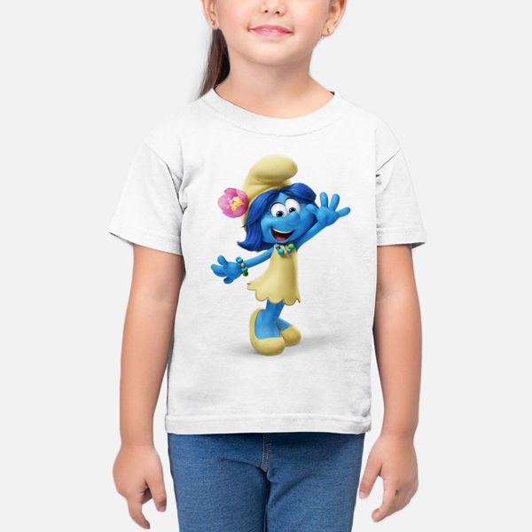Picture of Smurf Girl T-Shirt