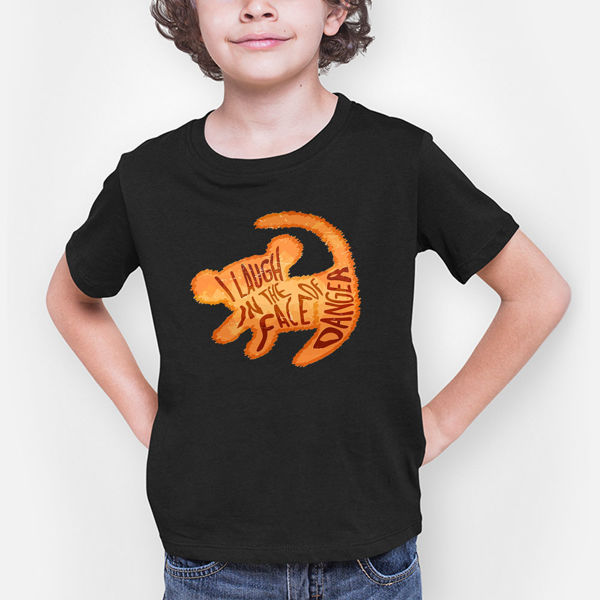 Picture of I laugh in the face of Danger Boy T-Shirt