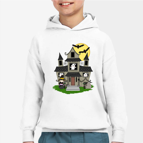 Picture of Haunted House Boy Hoodie