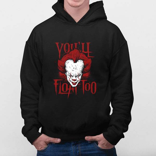 Picture of You'll Float Too hoodie