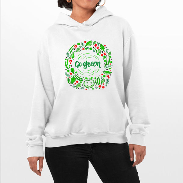 Picture of Go Green Female Hoodie