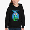 Picture of Elsa and Anna embark Girl Hoodie
