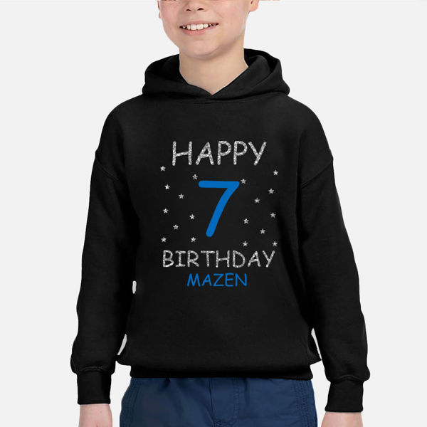 Picture of birthday party boy Hoodie