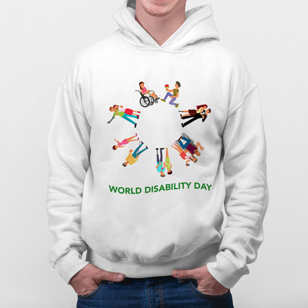 Picture of World desability day Hoodie