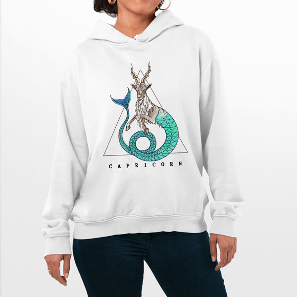 Picture of Colorful Capricorn Female Hoodie