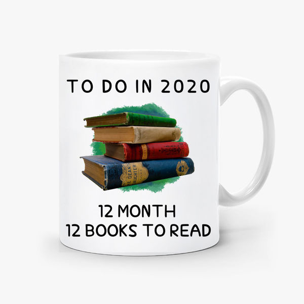 Picture of 12 Books to read Mug