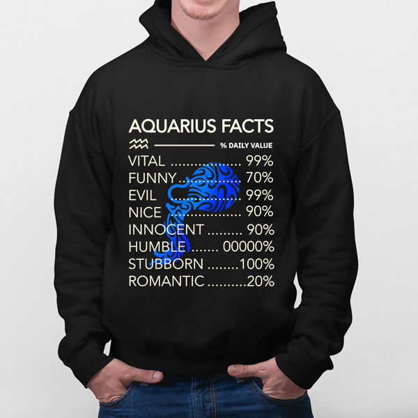 Picture of Aquarius Facts Hoodie