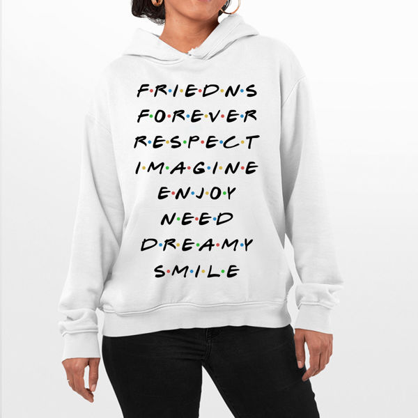 Picture of Friends Forever Female Hoodie