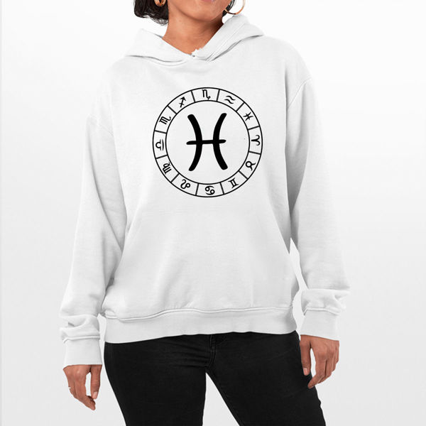 Picture of Pisces Logo Female Hoodie