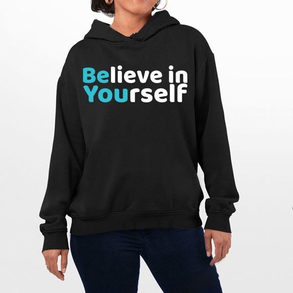 Picture of Believe in Yourself Female Hoodie