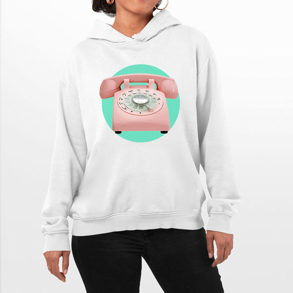 Picture of Telephone Female Hoodie